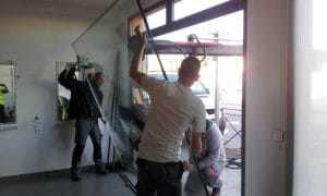 installation baies vitrées