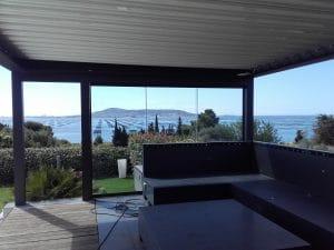 pose de verre par spécialiste Menuiseries alu et pvc à Sète