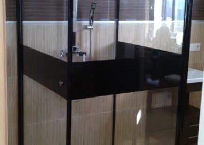Cabine de douche 90x90- Miroiterie singulière