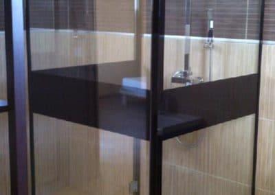 Cabine de douche 90x90 - Miroiterie singulière