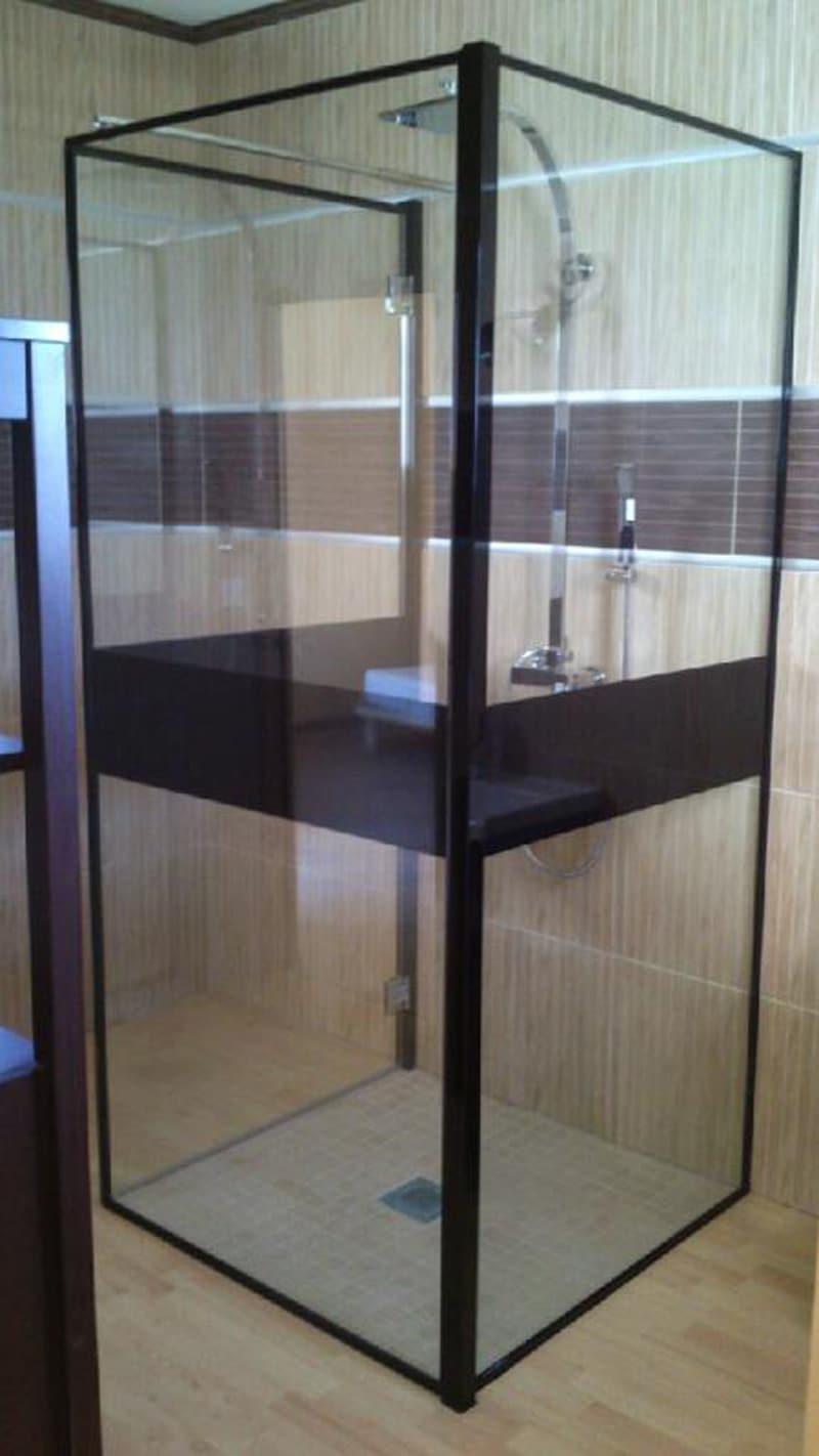 Cabines de douche dans l 39 h rault miroiterie singuli re - Cabine de douche fabrication francaise ...
