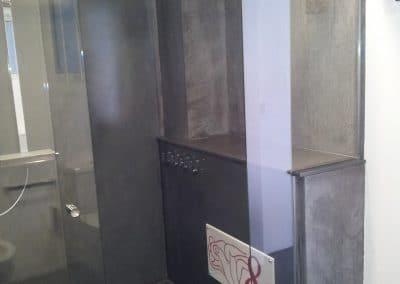 Paroi de douche coulissante à Montpellier dans l'Hérault - Miroiterie singulière