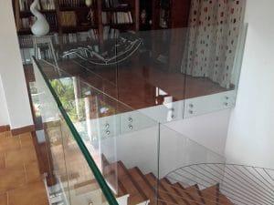 Garde-corps en verre à Montpellier