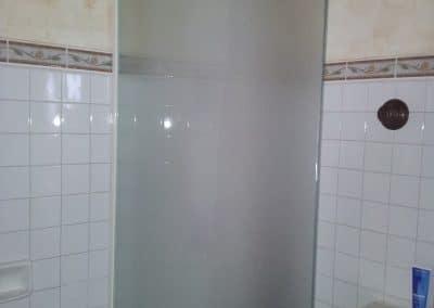 Paroi douche fixe - Miroiterie singulière