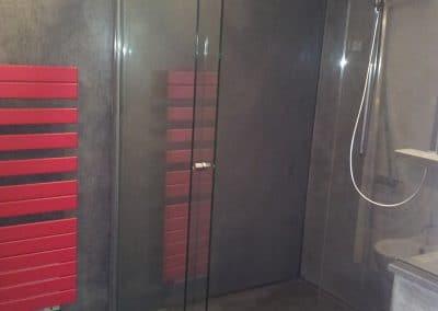 Paroi douche coulissante à Montpellier dans l'Hérault - Miroiterie Singulière