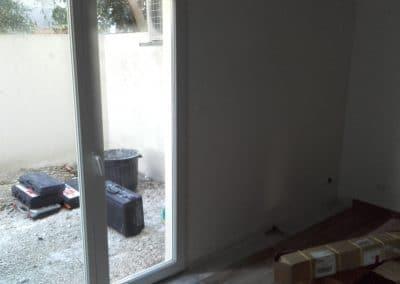 porte fenêtre d'entrée