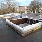 travaux toiture vitrée coulissante