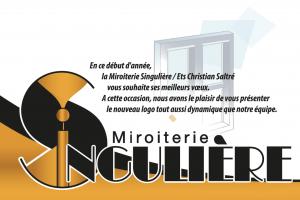nouveau logo miroiterie singulière
