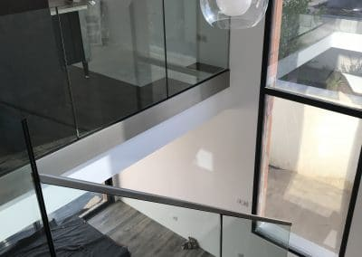 Garde-corps en verre Montpellier Miroiterie Singulière