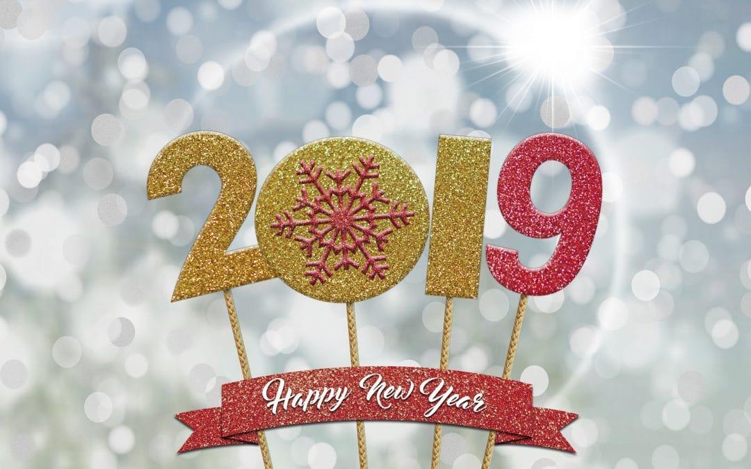 La miroiterie singulière vous souhaite ses meilleurs vœux 2019
